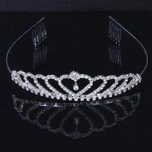 Accessories - Princess Crown Headband Tiara Wedding Bride